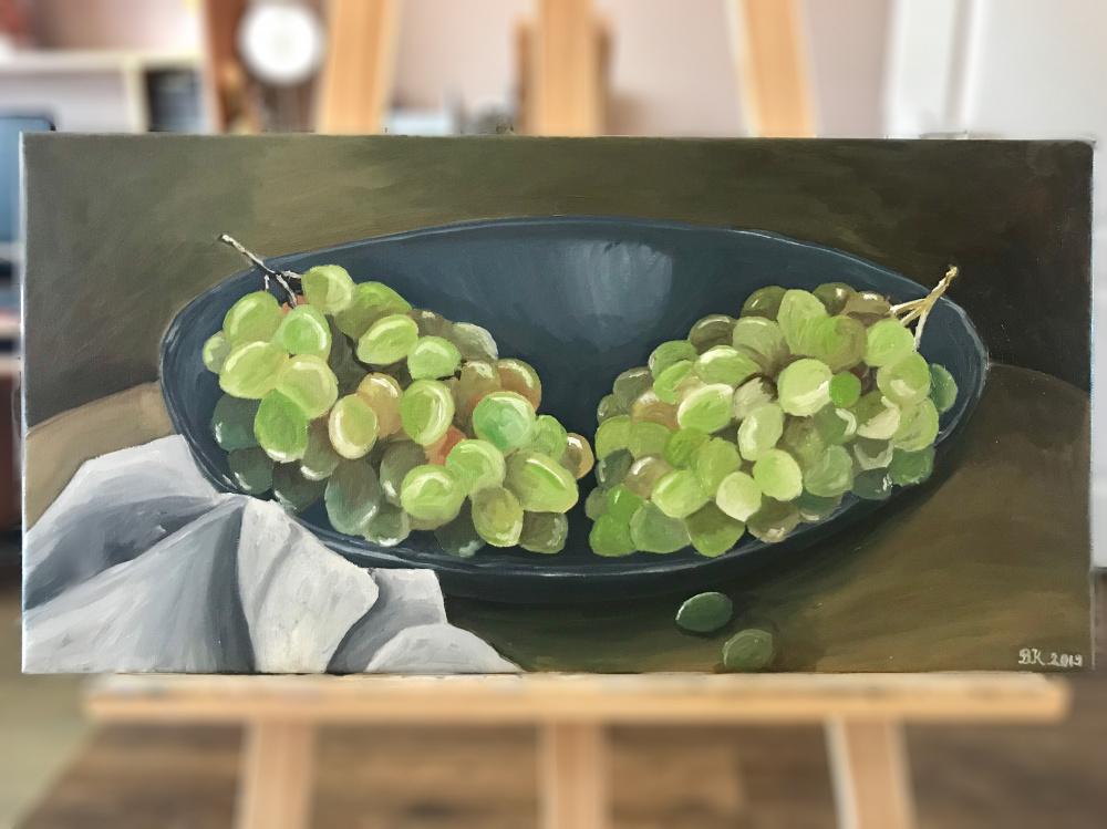 Vynuogių natiurmortas