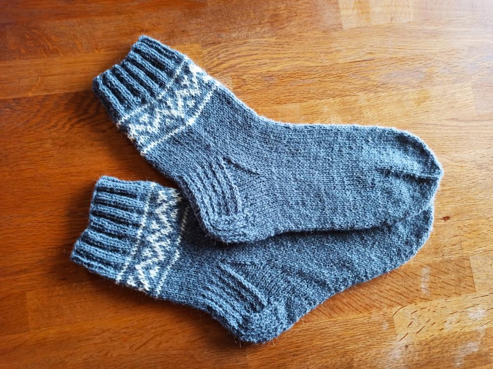 Vyriškos vilnonės kojinės