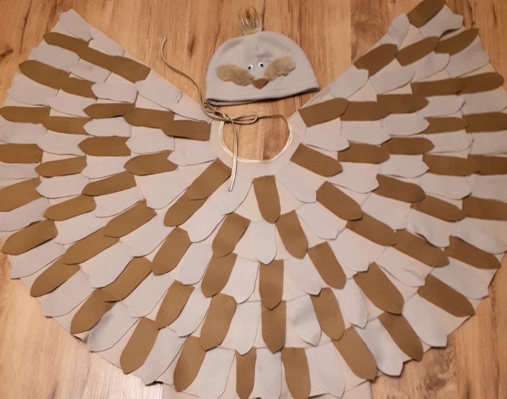 Vyturio, vieversio, paukščio karnavalinis kostiumas vaikams