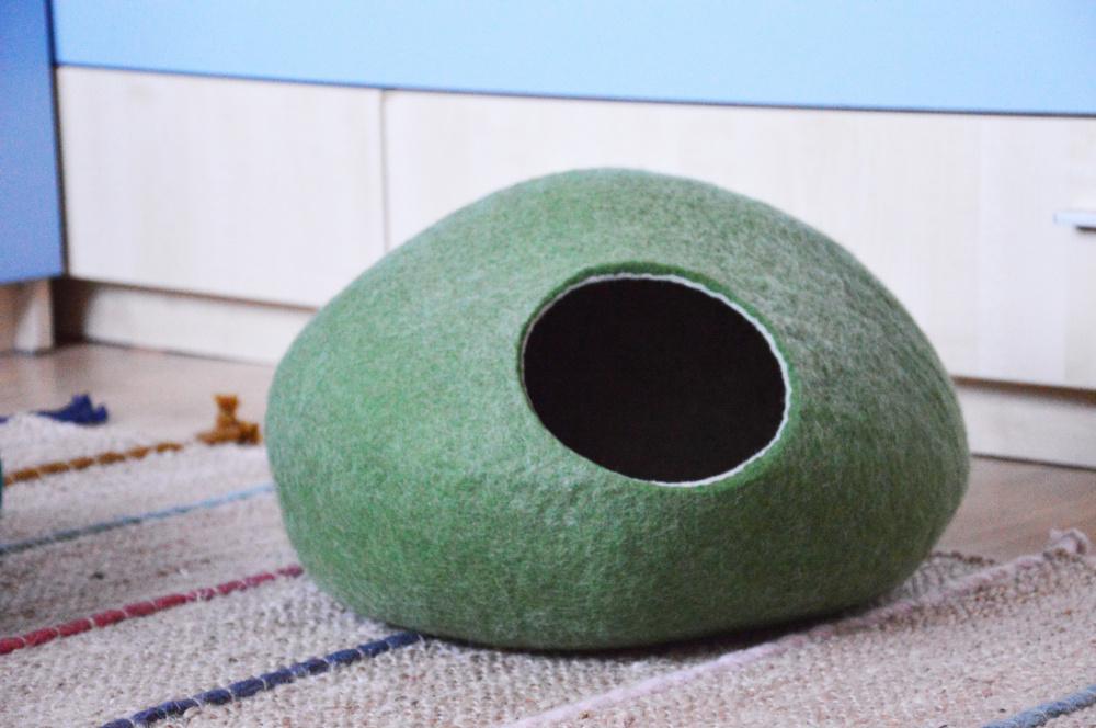Žalias katės guolis