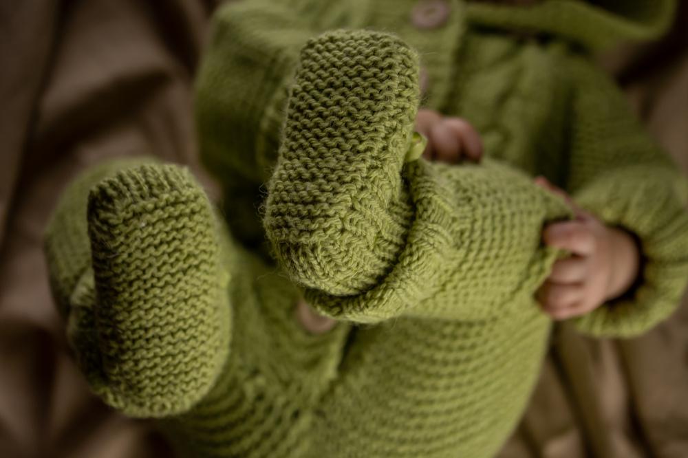 Žalias kombinezonas