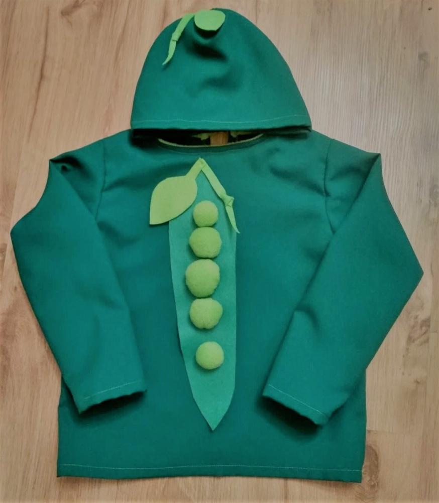Žirnio kostiumas berniukui