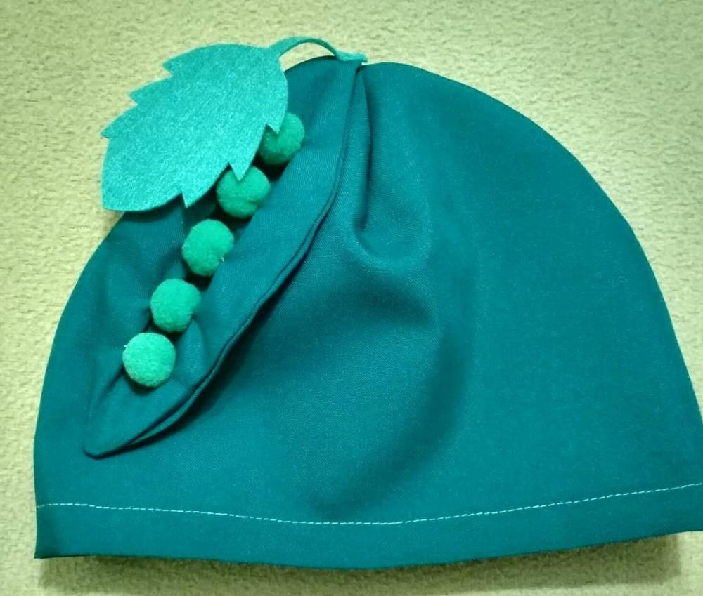 Žirnio vaikiška kepurė rudenėlio šventei