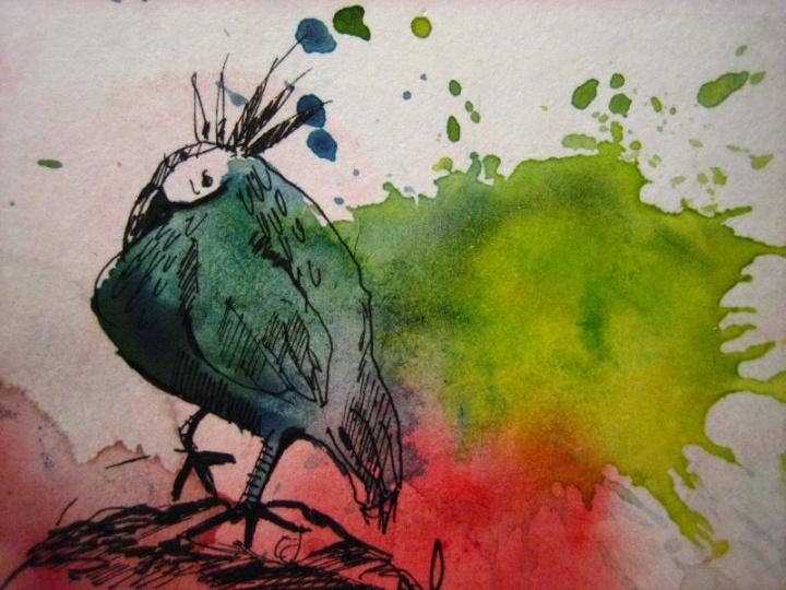 Iš serijos apie paukščius