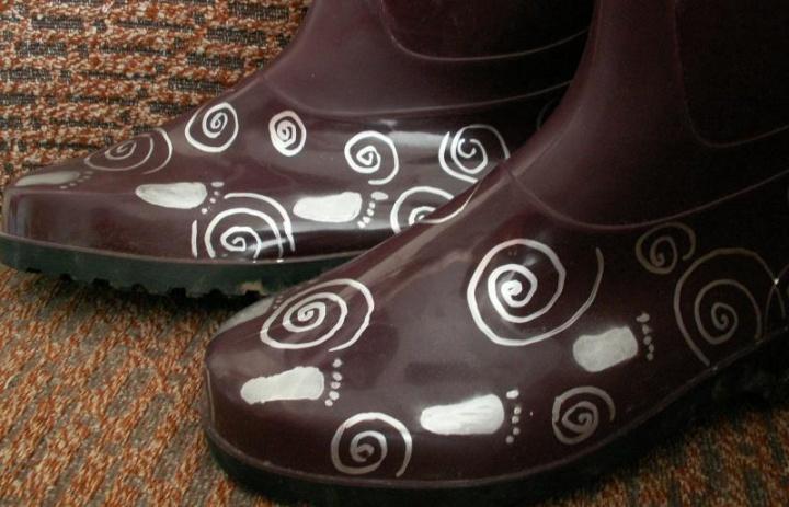 patobulinti guminiai batai