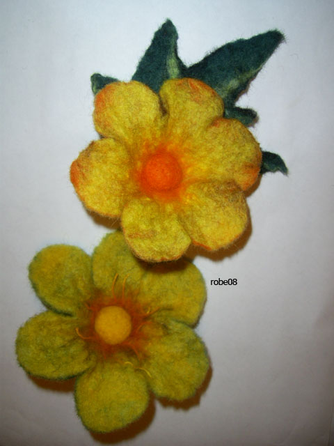 geltonos gėlės