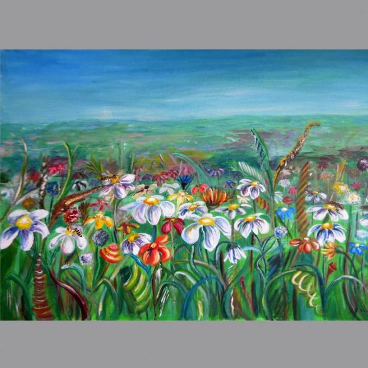 Gėlių laukas