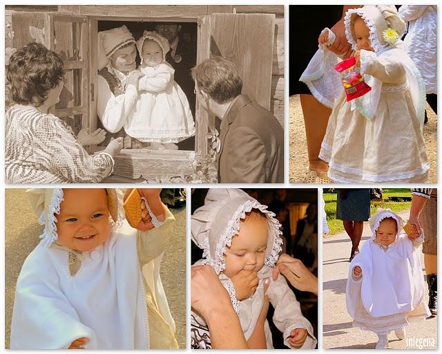 Krikšto drabužėliai pirmagimei
