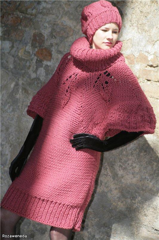 megztinis-suknelė