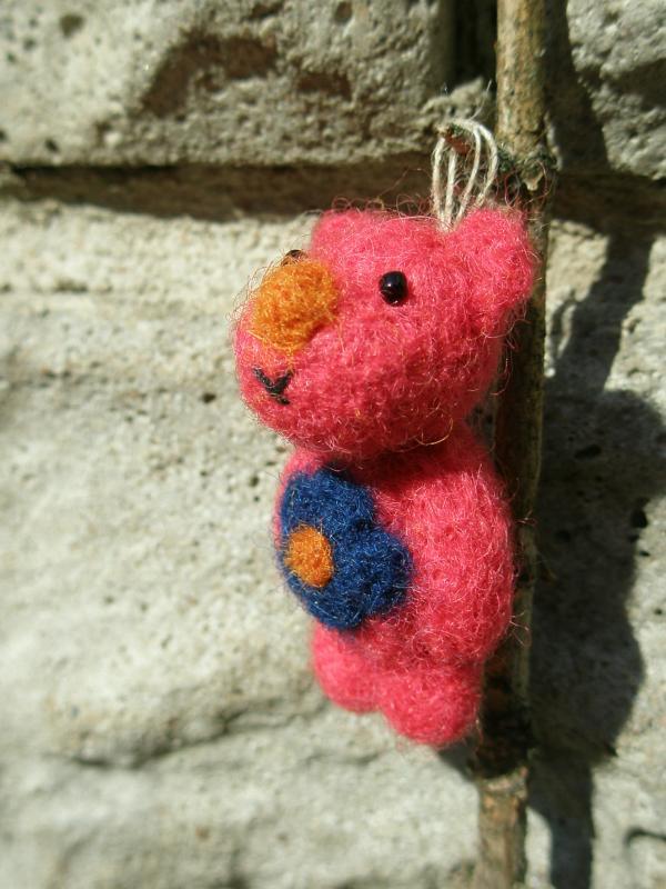 rožinis meškiukas