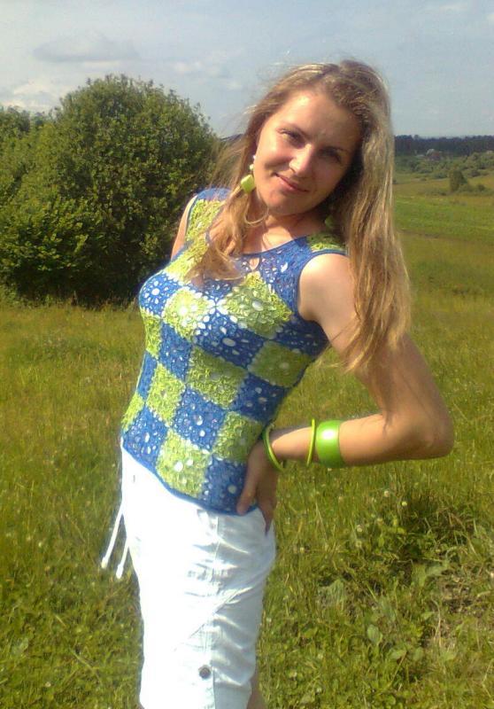 Žalia - Mėlyna:)