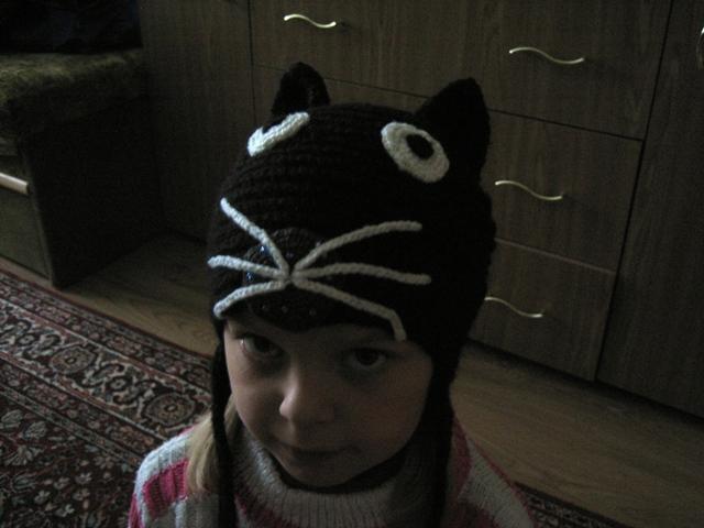 Kepurė dukrytei