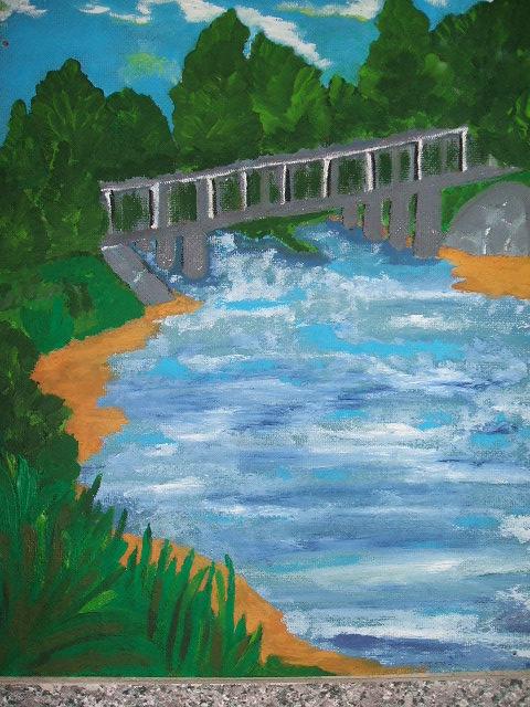 tiltas prie mariu
