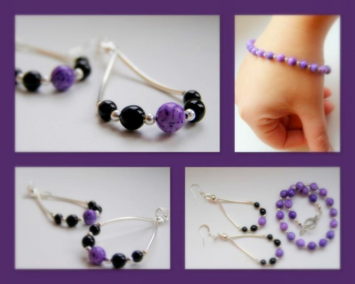 violetinis paprastumas.
