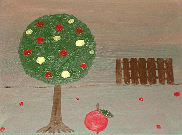 Sunokę obuoliai