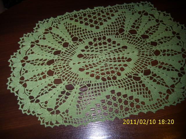 Žalia staltiesėlė
