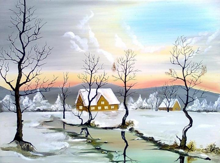 Žiema žiemužė