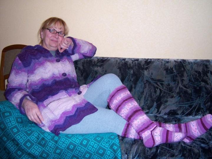 Megztinis ir kojinės