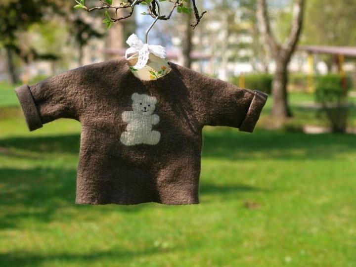 Megztinukas naujagimiui