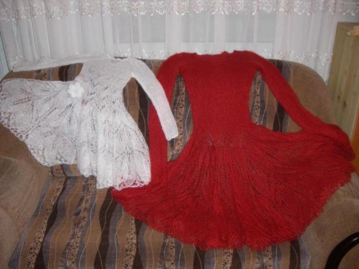mocherine suknele