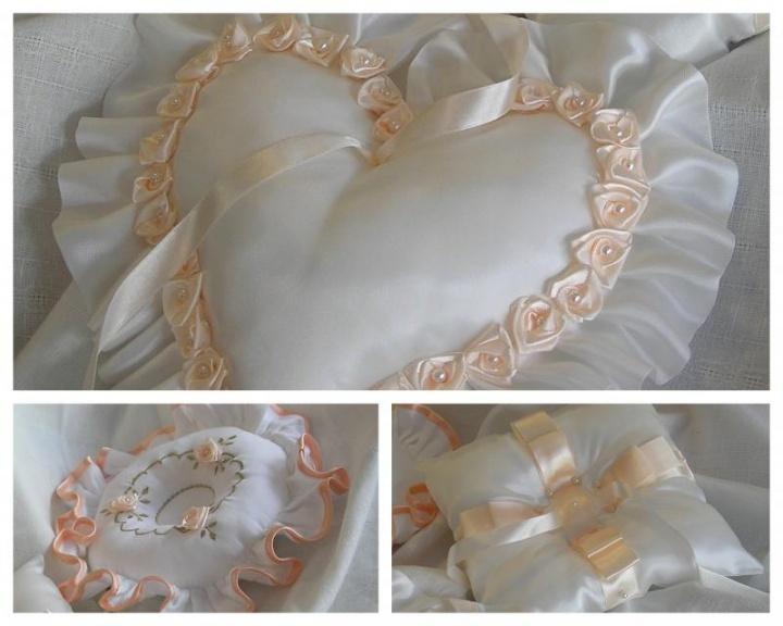 Pagalvėlės vestuviniams žiedams