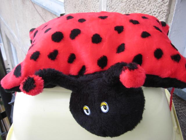 boružėlė pagalvėlė