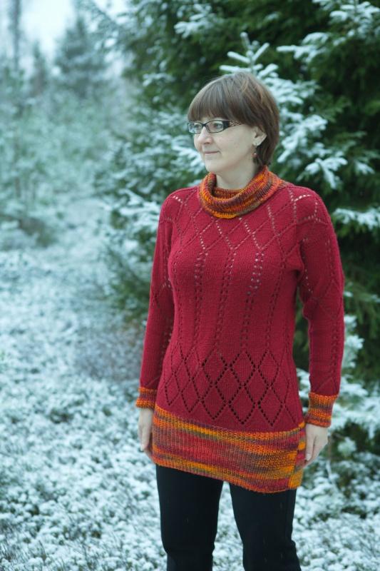 megztinis bordo