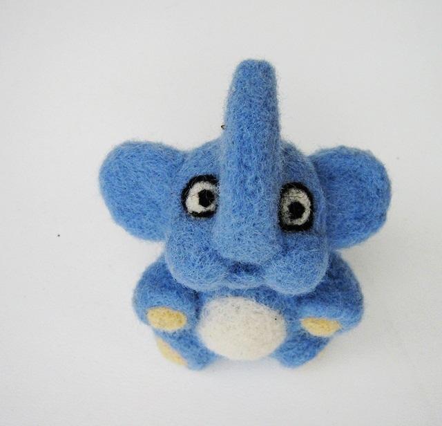 Mėlynas drambliukas