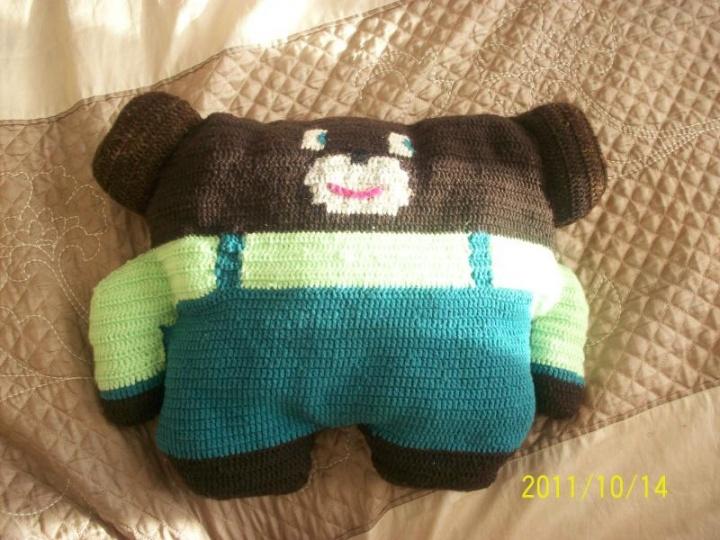 Nerta pagalvėlė - meškiukas