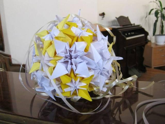 origamio burbulai.